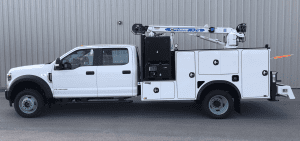 Titan Truck Bodies Auto Crane